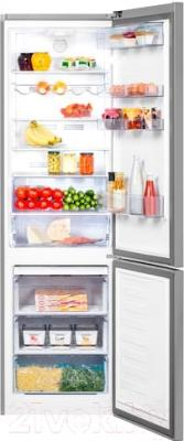 Холодильник с морозильником Beko CNKL7355EC0X