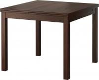 Обеденный стол Ikea Бьюрста 101.823.11 (коричневый) -