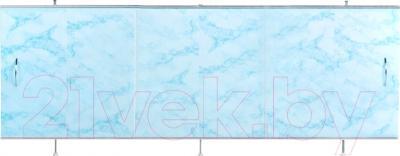 Экран для ванны Oda Универсал 1.50 (светло-голубой мрамор)