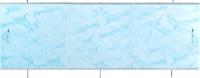 Экран для ванны Oda Универсал 1.70 (светло-голубой мрамор) -