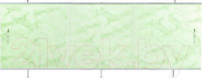 Экран для ванны Oda Универсал 1.70 (светло-зеленый мрамор)
