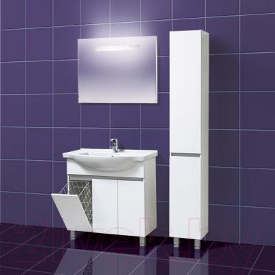 Зеркало для ванной Акваль C.Афина 85 (04.85.20.N) - в интерьере