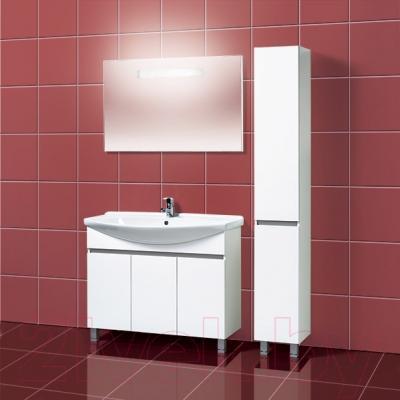 Зеркало для ванной Акваль C.Афина 105 (04.05.20.N) - в интерьере