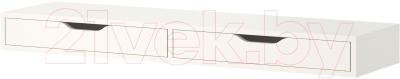 Полка Ikea Экби Алекс 201.928.28