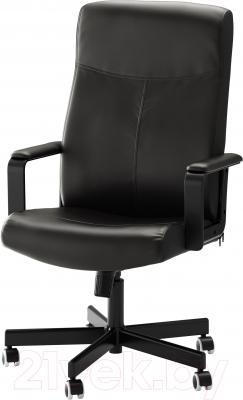 Кресло офисное Ikea Малькольм 201.968.07 (черный)