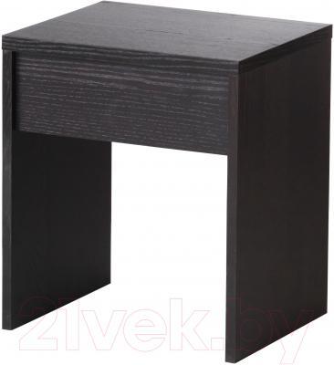 Табурет Ikea Рансби 202.023.99 (черно-коричневый)