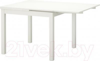 Обеденный стол Ikea Бьюрста 202.047.51 (белый)