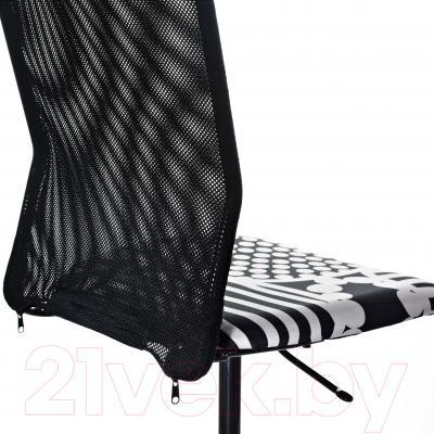 Кресло офисное Ikea Турбьёрн 202.247.54 - вид сзади