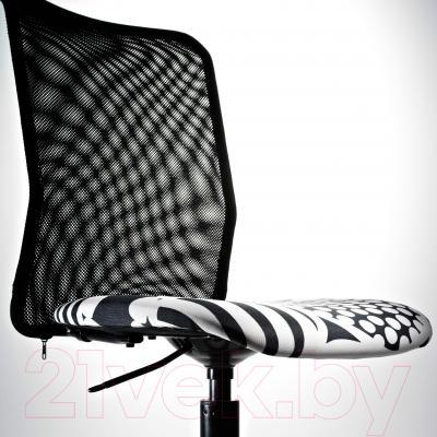 Кресло офисное Ikea Турбьёрн 202.247.54 - вид спереди