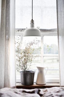Светильник Ikea Ранарп 202.313.11 (белый с оттенком)