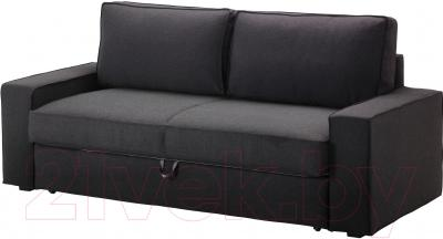 Чехол на диван - 3 местный Ikea Виласунд 202.430.45 (темно-серый)