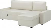 Чехол на угловой диван Ikea Виласунд 202.431.25 (светло-бежевый) -