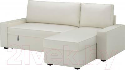 Чехол на угловой диван Ikea Виласунд 202.431.25 (светло-бежевый)