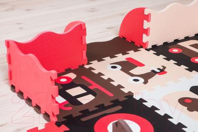 Коврик-пазл KidsTime MD 1089-1 (красный)