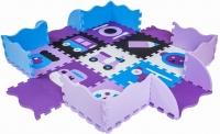 Коврик-пазл KidsTime MD 1089-2 (фиолетовый) -