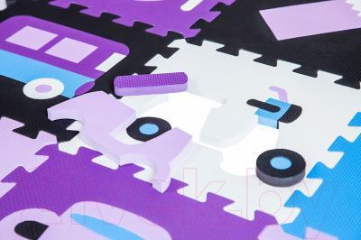 Коврик-пазл KidsTime MD 1089-2 (фиолетовый)