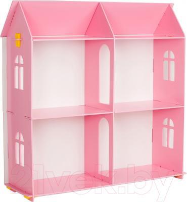 Кукольный домик Столики Детям ДК-1 (розовый)