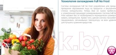 Морозильник Beko RFNK290T21W