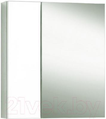 Шкаф с зеркалом для ванной Акваль Афина 60 L (04.61.00.N)
