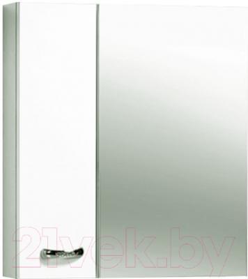Шкаф с зеркалом для ванной Акваль Афина 70 L (04.70.00.N)