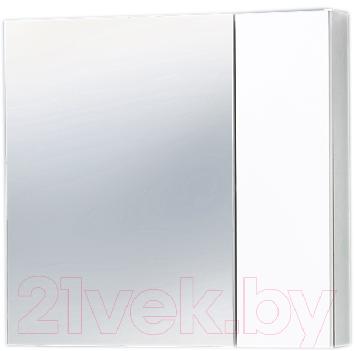 Шкаф с зеркалом для ванной Акваль Афина 70 R (04.70.00.N)