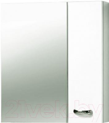 Шкаф с зеркалом для ванной Акваль София 70 R (ES.04.70.00.N)