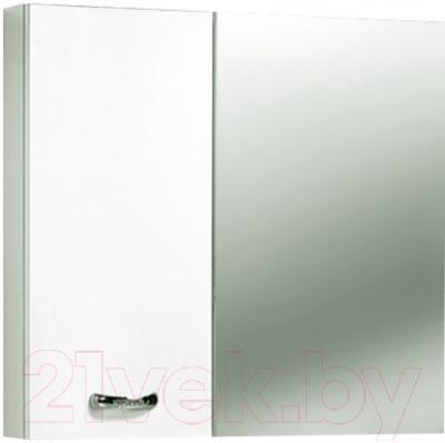 Шкаф с зеркалом для ванной Акваль София 75 L (ES.04.75.00.N)