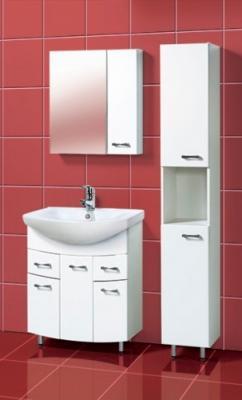 Шкаф-пенал для ванной Акваль София 30 L (ES.03.30.00.N) - в интерьере