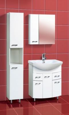 Шкаф-пенал для ванной Акваль София 30 R (ES.03.30.00.N) - в интерьере