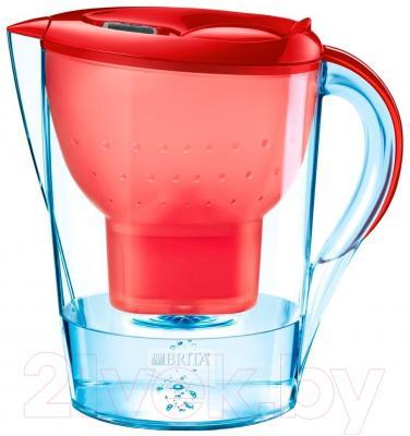 Фильтр питьевой воды Brita Marella XL Cal (красный)