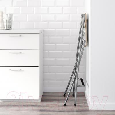 Стул Ikea Франклин 101.992.17 (белый/серебристый)