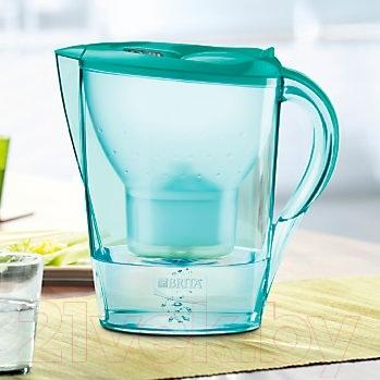 Фильтр питьевой воды Brita Marella XL Мемо (Зеленая мята)