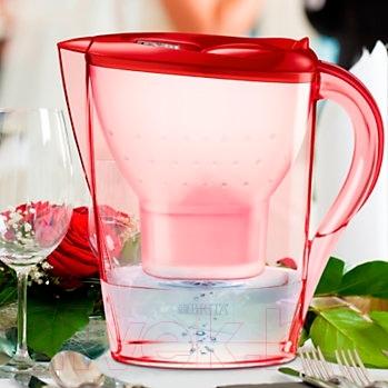 Фильтр питьевой воды Brita Marella XL Мемо (Алая роза)