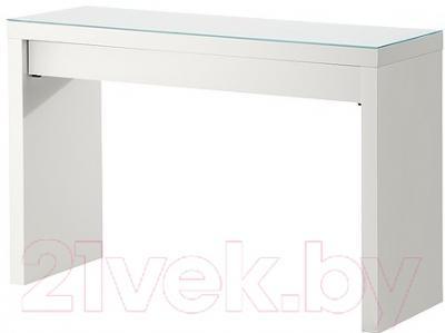 Туалетный столик Ikea Мальм 102.036.10 (белый)