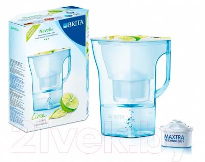 Фильтр питьевой воды Brita Navelia Мемо (лайм)