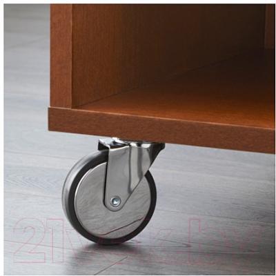 Журнальный столик Ikea Буксэль 102.071.56 (коричневый)