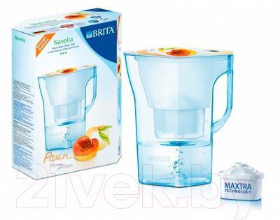 Фильтр питьевой воды Brita Navelia Мемо (персик)