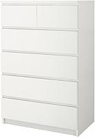 Комод Ikea Мальм 102.145.57 (белый) -