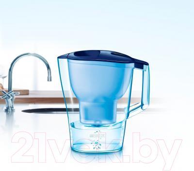 Фильтр питьевой воды Brita Алуна XL Cal (синий)