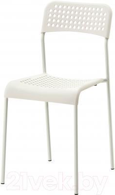 Стул Ikea Адде 102.191.78 (белый)