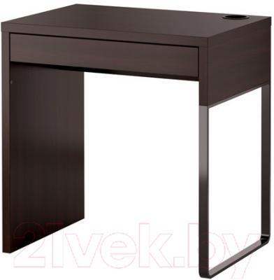 Письменный стол Ikea Микке 202.447.47 (черно-коричневый)