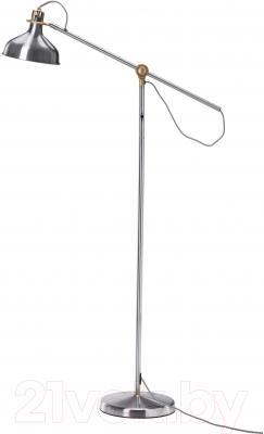 Торшер Ikea Ранарп 202.576.74 (никелированный)