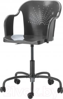 Кресло офисное Ikea Робергет 202.605.15 (серый)