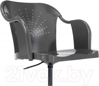 Кресло офисное Ikea Робергет 202.605.15 (серый) - вид спереди