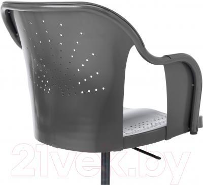 Кресло офисное Ikea Робергет 202.605.15 (серый) - вид сзади