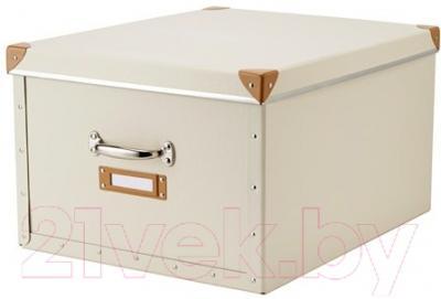 Ящик для хранения Ikea Фьелла 202.699.50 (белый с оттенком)