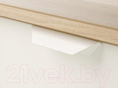 Комод Ikea Аскволь 202.708.02 (под беленый дуб/белый)