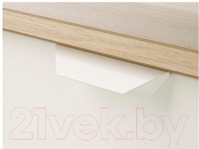 Прикроватная тумба Ikea Аскволь 202.708.16 (под беленый дуб/белый) - Инструкция по сборке