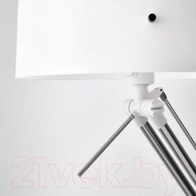 Торшер Ikea Самтид 202.865.63 (белый, никелированный)