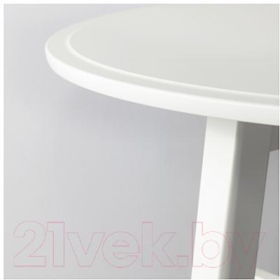Журнальный столик Ikea Крагста 202.866.38 (белый)
